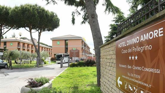 Sale Meeting Di Hotel Divino Amore Casa Del Pellegrino Roma