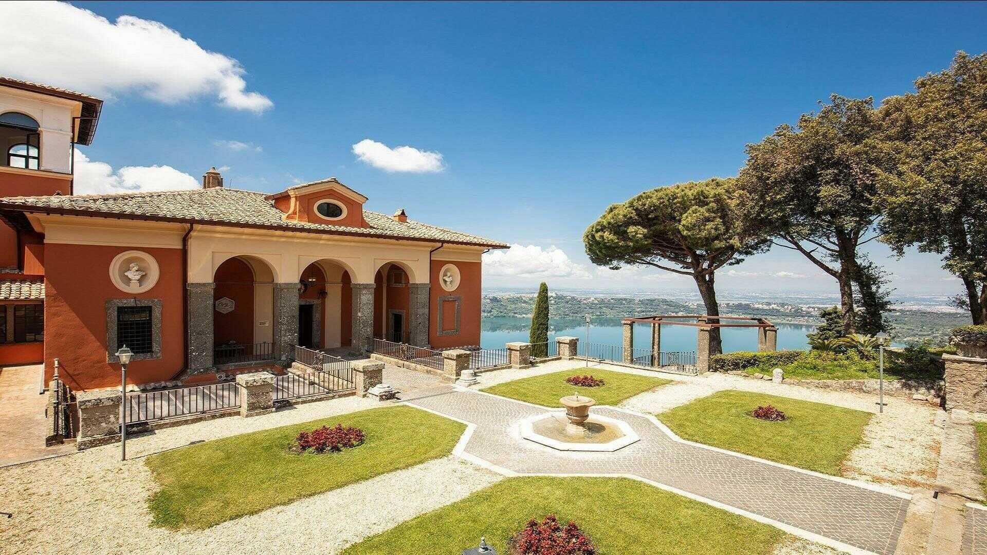 Meeting Rooms At Villa Del Cardinale Rocca Di Papa