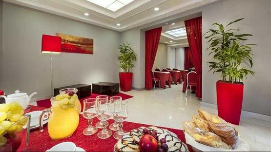 Meeting rooms at HOTEL ROUGE ET NOIR - Rome