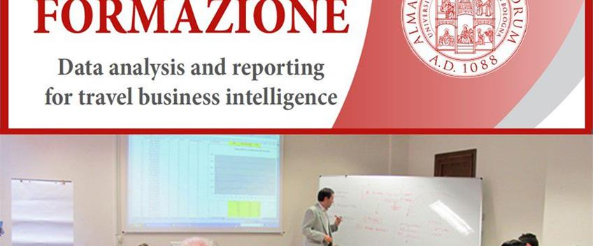 "Corso di formazione ""Data analysis and reporting for travel business intelligence"""