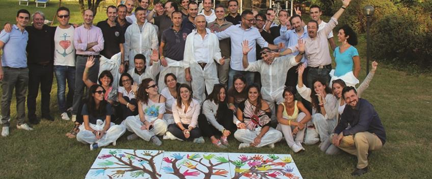 La magia del team building