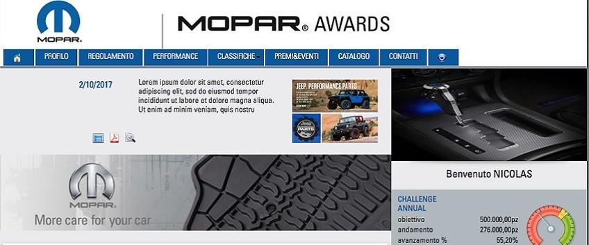 Mopar e H&A Europe confermano la collaborazione