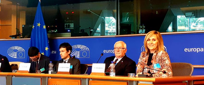 Food for Good presentato al Parlamento Europeo