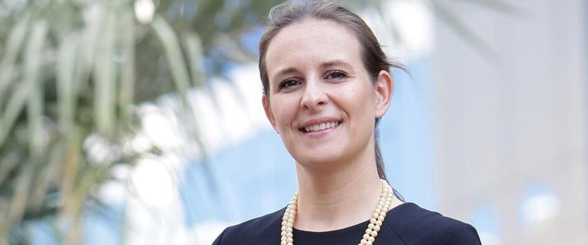 Laetitia Pardo sales and marketing director dell'Hotel Martinez