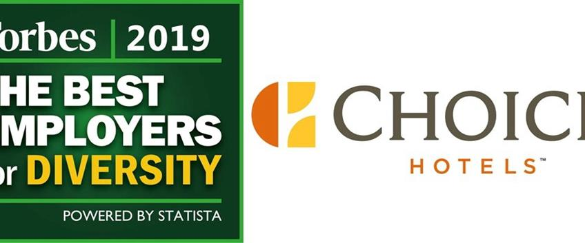 Choice Hotels International tra i Best Employers fo Diversity 2019 di Forbes