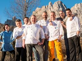 Chef Team Cortina cura il food alle Finali di Coppa del Mondo di sci