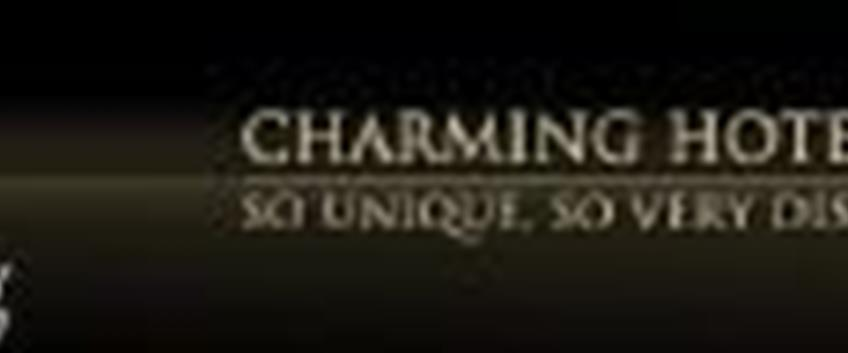 Nuovo sito per Charming Hotels & Resorts